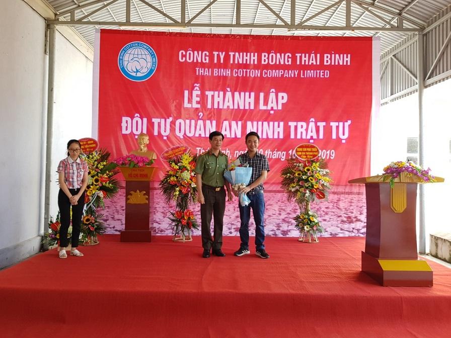 Công ty TNHH Bông Thái Bình ra mắt